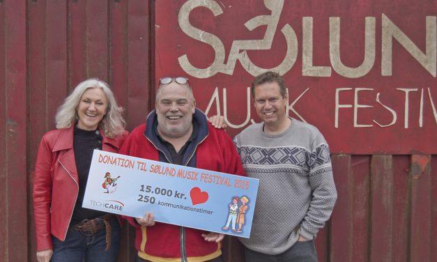 TechCare støtter Danmarks Vigtigste Festival