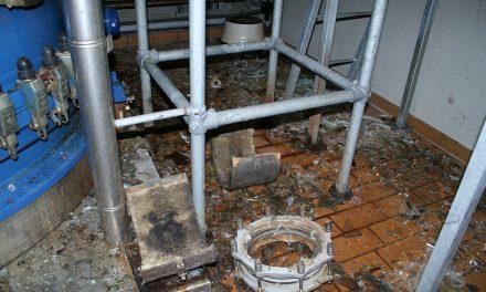 Svigt af inertgas purge medførte eksplosion
