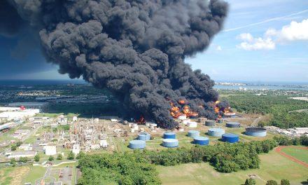 Ekstrem eksplosion af benzindampe – igen