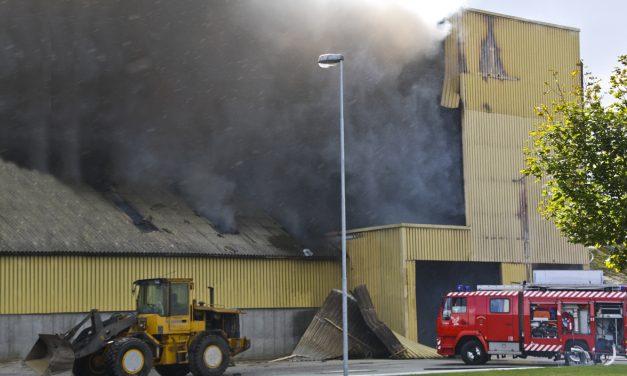 Støveksplosion ødelægger dansk træpillefabrik – igen