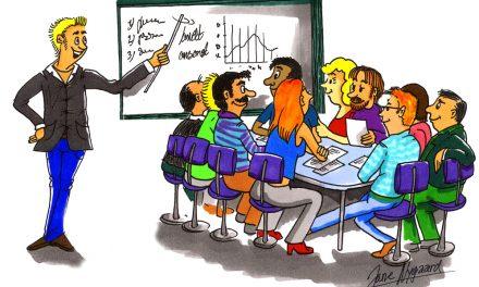 Kunderne vil have høj kursuskvalitet